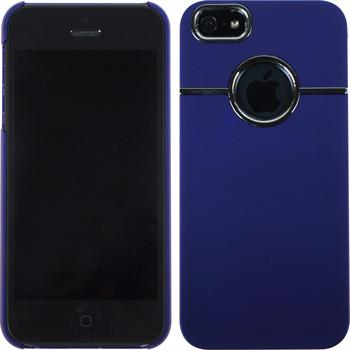 Hardcase for Apple iPhone 5 / 5s rubberized purple