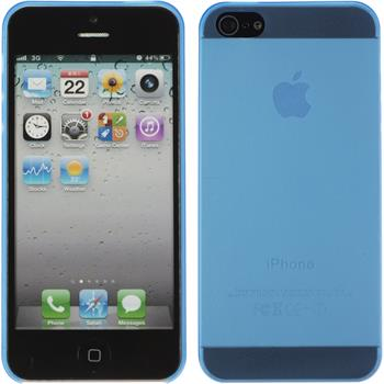 Hardcase iPhone 5 / 5s / SE matt blau