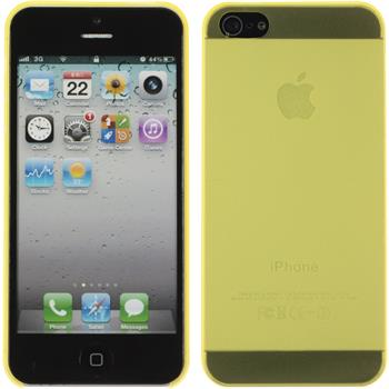 Hardcase for Apple iPhone 5 / 5s matt yellow