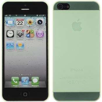 Hardcase iPhone 5 / 5s / SE matt grün