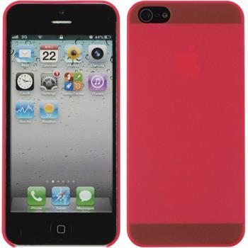 Hardcase iPhone 5 / 5s / SE matt rot