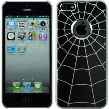 Hardcase for Apple iPhone 5 / 5s Spiderweb black