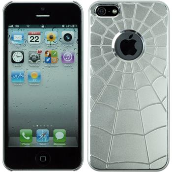 Hardcase iPhone 5 / 5s / SE Spiderweb weiß