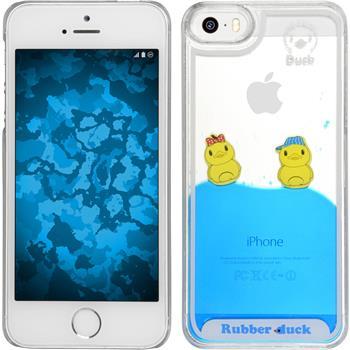 Hardcase iPhone 5 / 5s / SE Entchen Design:02