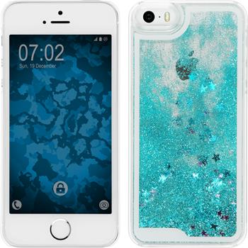 Hardcase iPhone 5 / 5s / SE Stardust blau