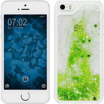 Hardcase iPhone 5 / 5s / SE Stardust grün