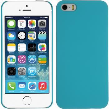 Hardcase für Apple iPhone 5 / 5s / SE vintage blau