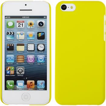 Hardcase for Apple iPhone 5c rubberized yellow