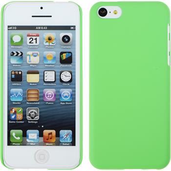 Hardcase iPhone 5c gummiert grün