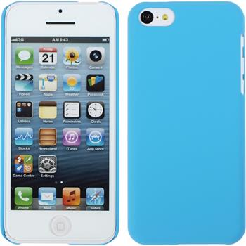 Hardcase for Apple iPhone 5c rubberized light blue