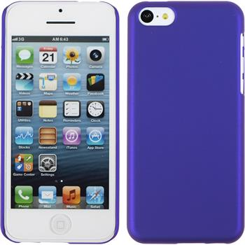 Hardcase iPhone 5c gummiert lila