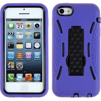 Hardcase für Apple iPhone 5c ShockProof lila