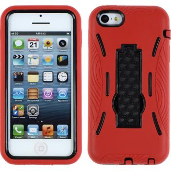 Hardcase iPhone 5c ShockProof rot