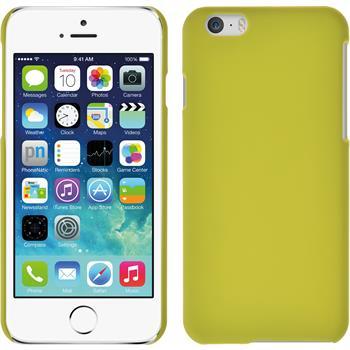 Hardcase iPhone 6s / 6 gummiert gelb