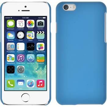 Hardcase iPhone 6s / 6 gummiert hellblau