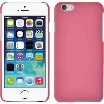 Hardcase für Apple iPhone 6s / 6 gummiert rosa