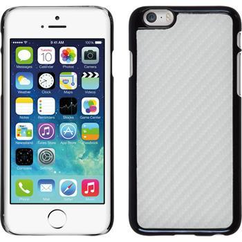 Hardcase iPhone 6s / 6 Carbonoptik weiß