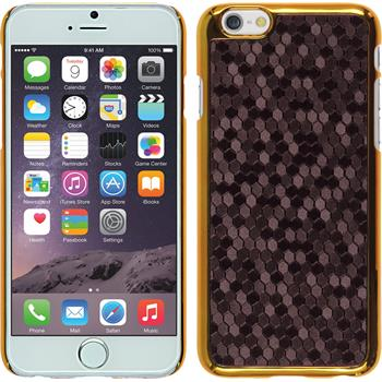 Hardcase für Apple iPhone 6s / 6 Hexagon lila