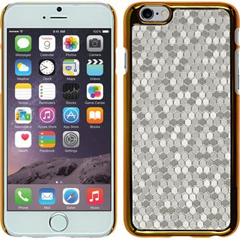 Hardcase für Apple iPhone 6s / 6 Hexagon silber