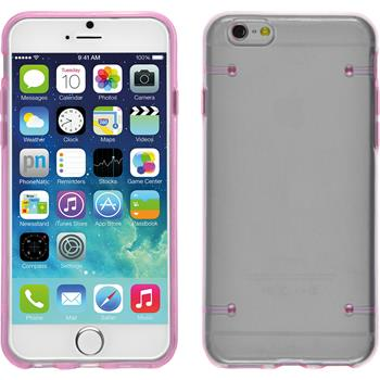 Hardcase für Apple iPhone 6s / 6 transparent rosa