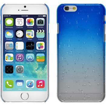 Hardcase iPhone 6s / 6 Waterdrops blau