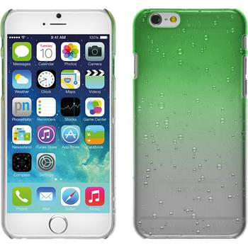 Hardcase für Apple iPhone 6s / 6 Waterdrops grün