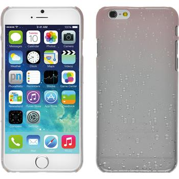 Hardcase iPhone 6s / 6 Waterdrops rosa