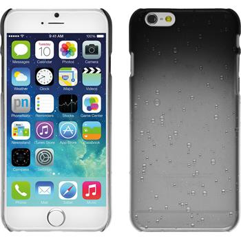 Hardcase für Apple iPhone 6s / 6 Waterdrops schwarz