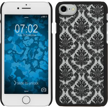 Hardcase iPhone 7 Damask schwarz