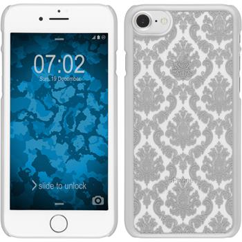 Hardcase iPhone 7 Damask silber