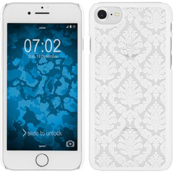 Hardcase iPhone 7 Damask weiß