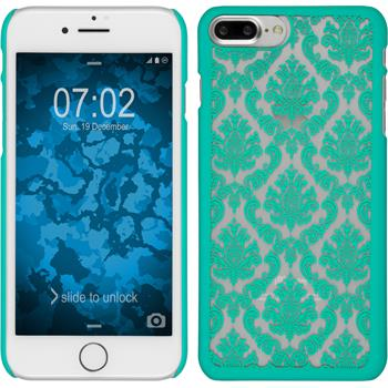 Hardcase iPhone 7 Plus Damask grün