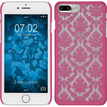 Hardcase für Apple iPhone 7 Plus Damask pink