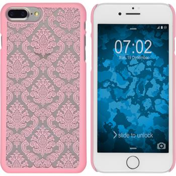 Hardcase iPhone 7 Plus Damask rosa