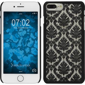 Hardcase iPhone 7 Plus Damask schwarz