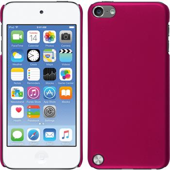 Hardcase iPod touch 5 / 6 gummiert pink
