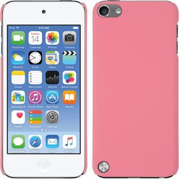 Hardcase für Apple iPod touch 5 / 6 gummiert rosa