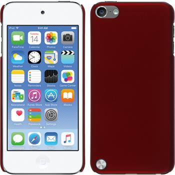 Hardcase iPod touch 5 / 6 gummiert rot