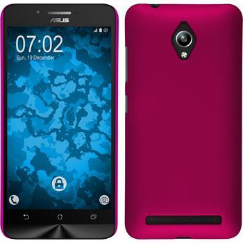 Hardcase Zenfone Go (ZC500TG) gummiert pink