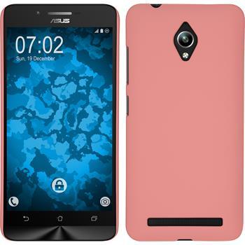 Hardcase Zenfone Go (ZC500TG) gummiert rosa