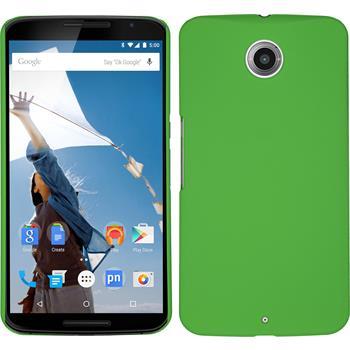Hardcase Nexus 6 gummiert grün