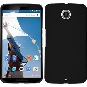Hardcase Nexus 6 gummiert schwarz