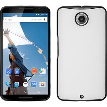 Hardcase Nexus 6 Lederoptik weiß