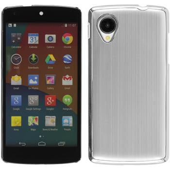 Hardcase Nexus 5 Metallic silber
