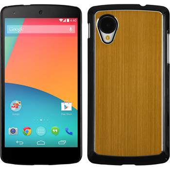 Hardcase Nexus 5 Metallic gold