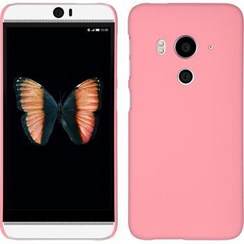 Hardcase Butterfly 3 gummiert rosa