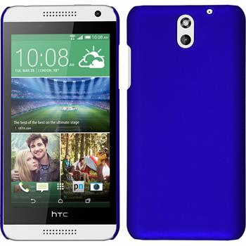 Hardcase for HTC Desire 610 rubberized blue