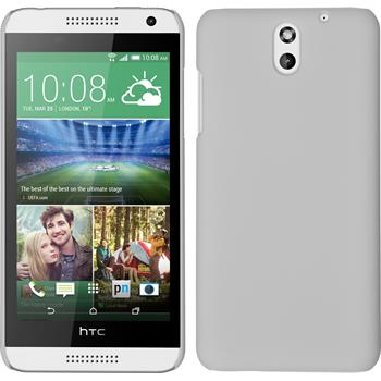 Hardcase for HTC Desire 610 rubberized white