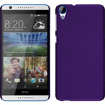Hardcase für HTC Desire 820 gummiert lila