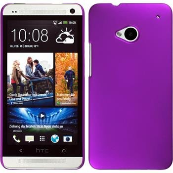 Hardcase for HTC One  purple
